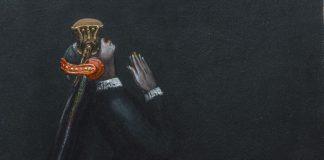 Выставка Сержа Сунне в частной галерее в Даугавпилсе. Фото: Евгений Ратков