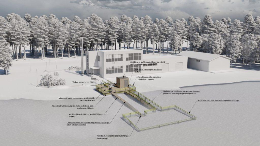 Проект Виестурса Балодиса места для купания людей с органиченными возможностями