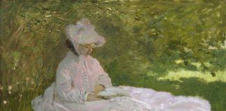 Клод Моне. «Женщина читает». Ресурс: impressionism.su