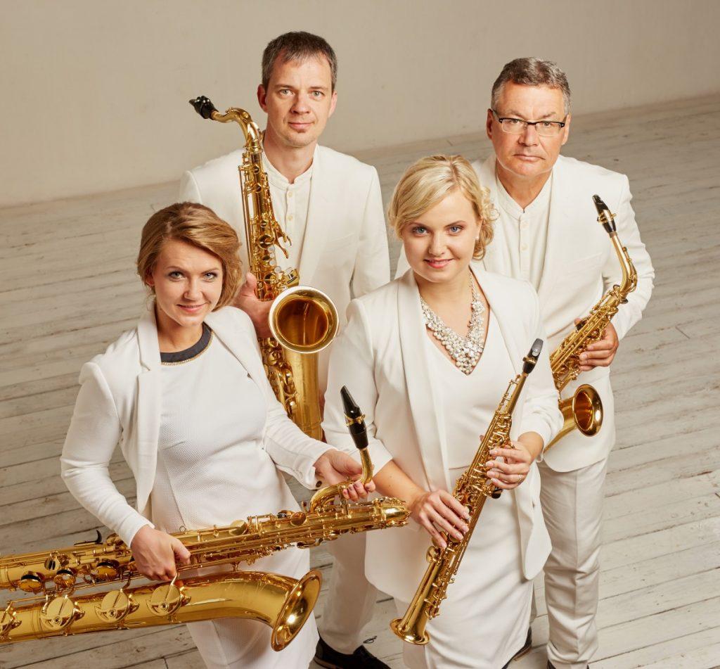 Rīgas saksofonu kvartets. Пресс-фото