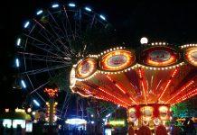 С 17 сентября до 3 октября возле Олимпийского центра (ул. Спорта, 8а) будет открыт большой парк аттракционов для всей семьи. Фото со страницы организаторов на фейсбуке