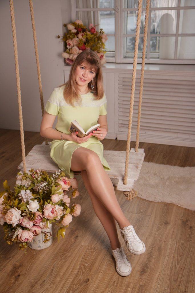 Библиотерапевт Катерина Смирнова. Фото: Ина Лихач