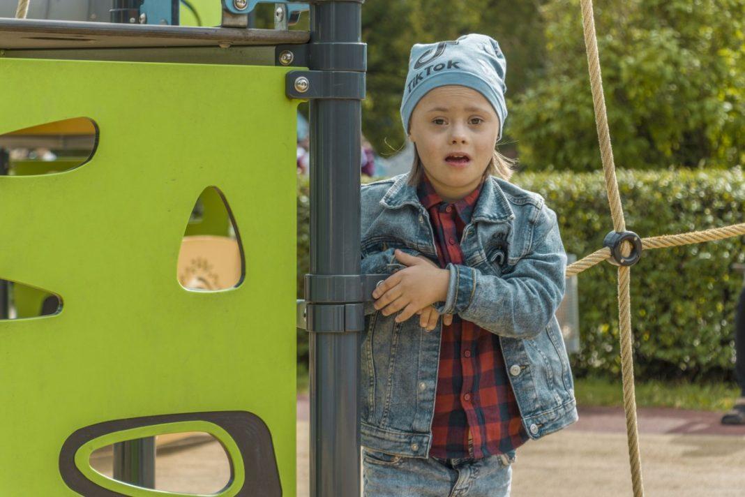 Дети с синдромом Дауна.