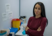 Дина Хубларова-Покшане, координатор Центра вакцинации в Даугавпилсе