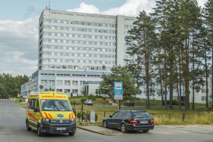 Даугавпилсская региональная больница. Июль 2021 года. Фото: Евгений Ратков