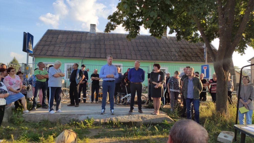 Собрание на Юдовке. 10 сентября 2021 года. Фото: Ирена Вилциня