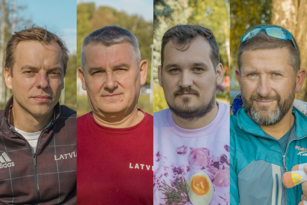 Дмитрий Валайнис, Сергей Иванько, Артур Латковский и Сергей Самуйлов. Фото: Евгений Ратков