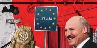 Мигранты в Латвии: что происходит? Коллаж chayka.lv