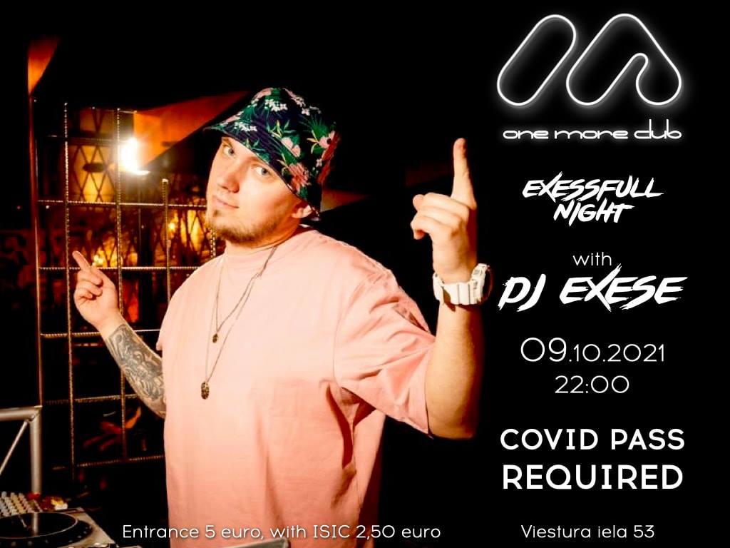 В One More Club будет играть DJ Exese