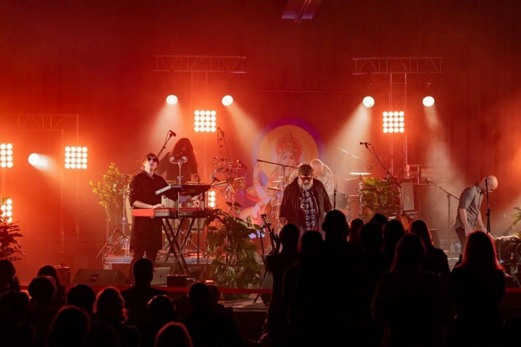 Концерт Бориса Гребенщикова в Риге. 4 октября 2021 года. Фото: страница ATTA Centre на фейсбуке