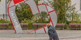 Даугавпилс, 30 сентября 2021 года. Фото: Евгений Ратков