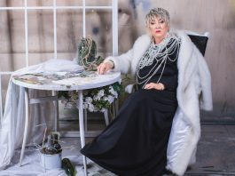 Актриса Даугавпилсского театра Вера Храмникова. Фото: Джейна Саулите